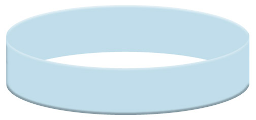 Wristband Color Example - Baby Blue