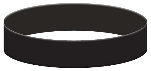 Wristband Color Example - Black