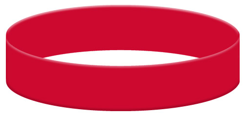 Wristband Color Example - Red