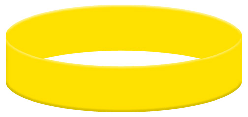 Wristband Color Example - Yellow